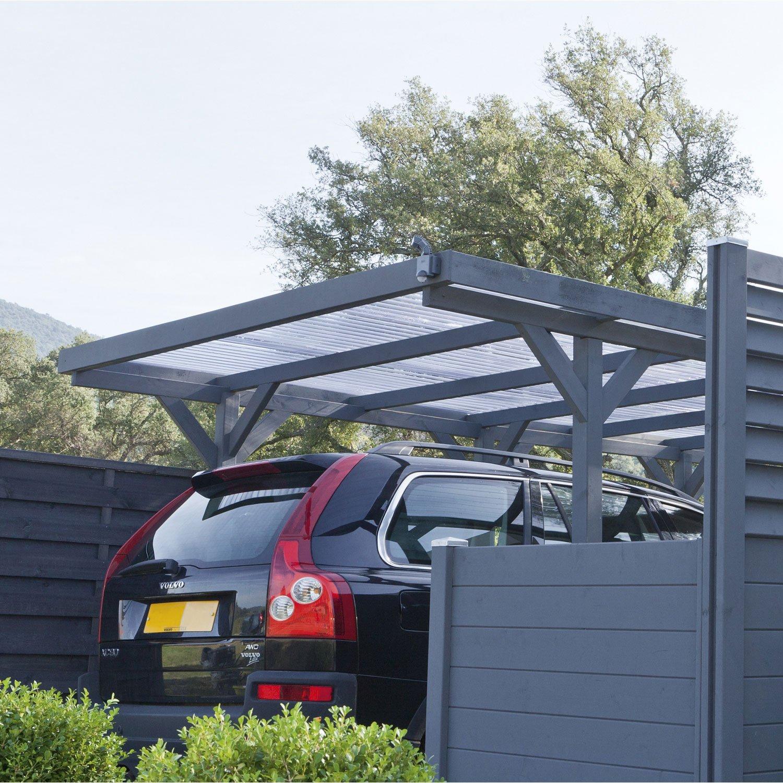 Carport Aluminium Leroy Merlin concernant Abri Camping Car Brico Depot