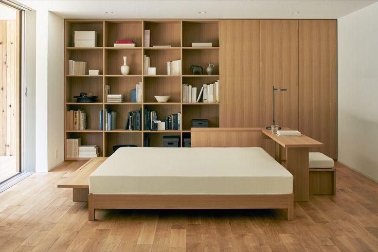 Cette Maison Design Et Préfabriquée De 80M2 Est Conçue Par serapportantà Muji Meubles