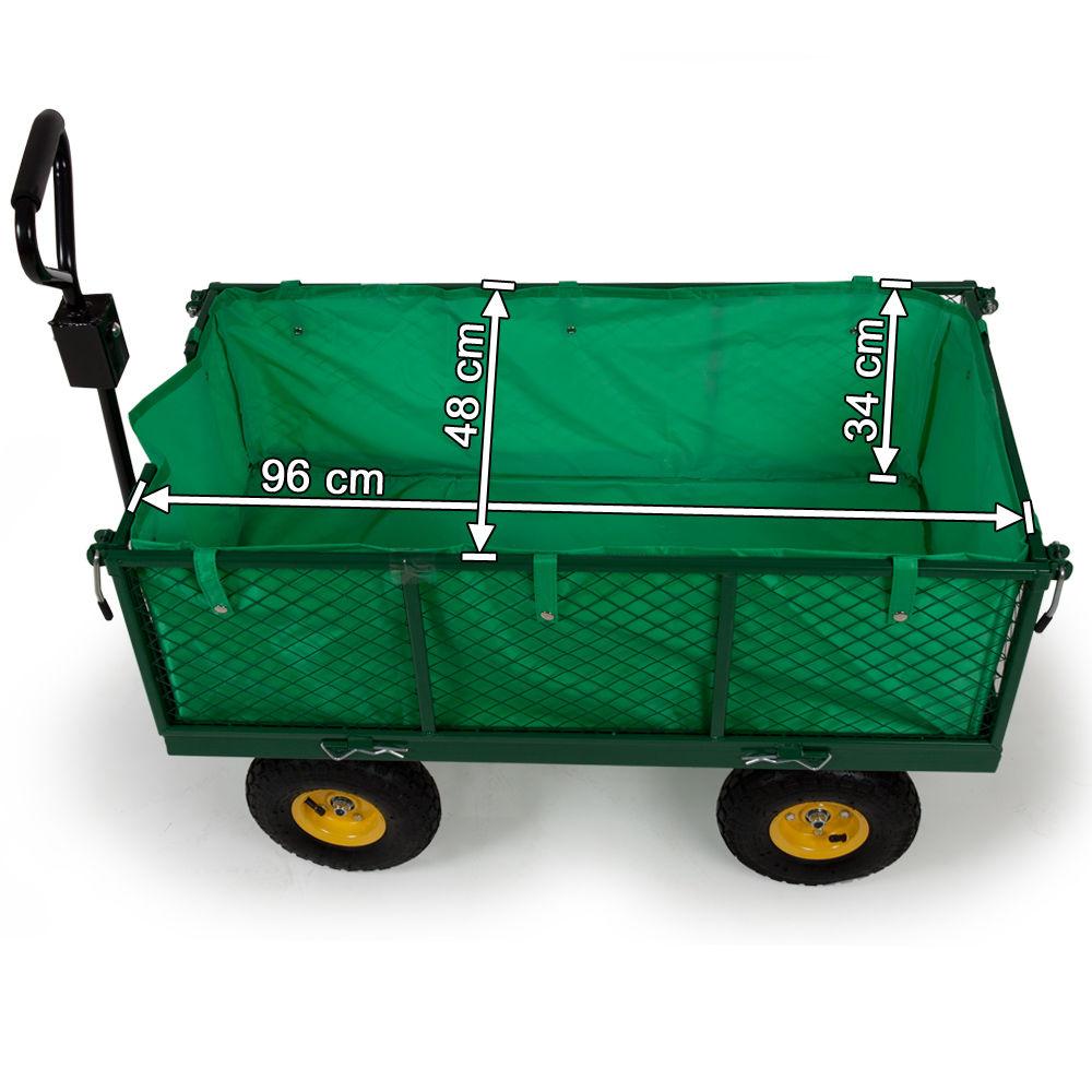 Chariot De Jardin 550 Kg Pas Cher | Tectake concernant Chariot De Jardin