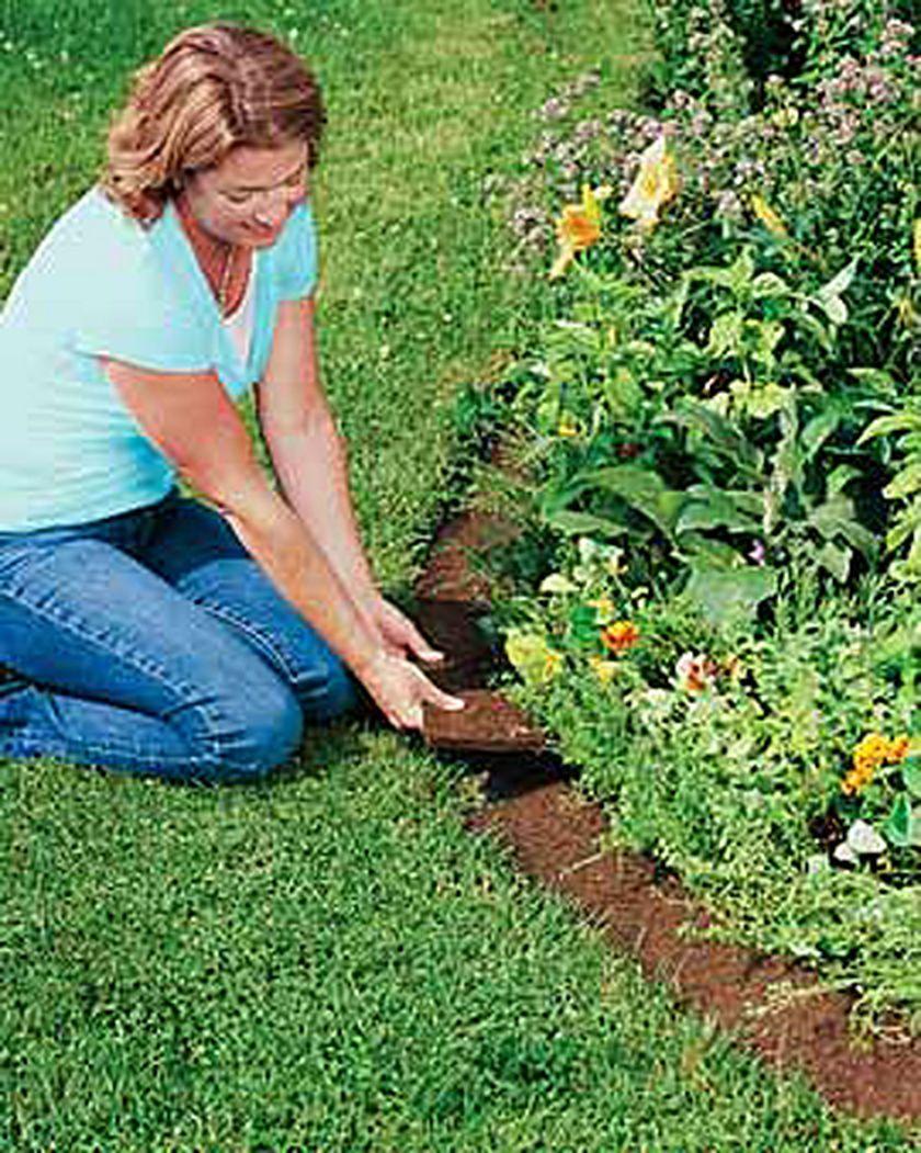 Coco Fiber Edging   Coconut Fiber Edging   Gardeners   Landscape Edging, Garden Edging intérieur Bordure Jardin Bricomarché
