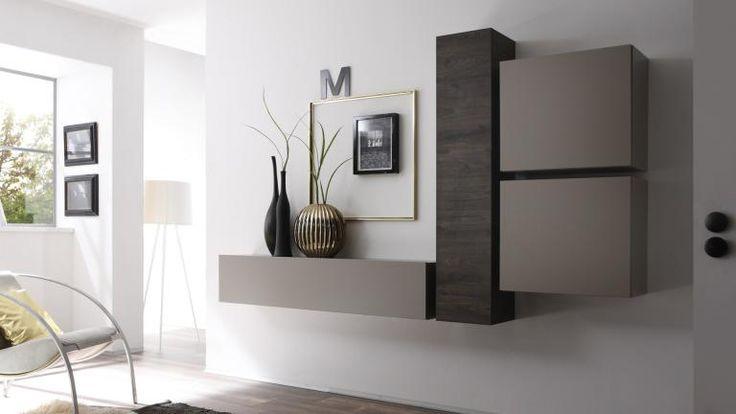 Colonne De Rangement Horizontale Suspendue - Linery En intérieur Meuble Suspendu Salon