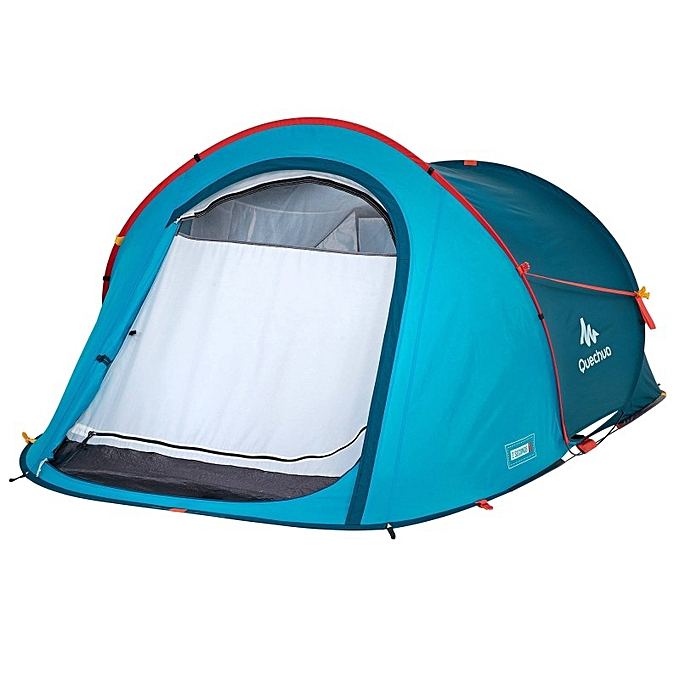 Decathlon Tente De Camping 2 Seconds - Bleu - Prix Pas encequiconcerne Tente De Plage Decathlon