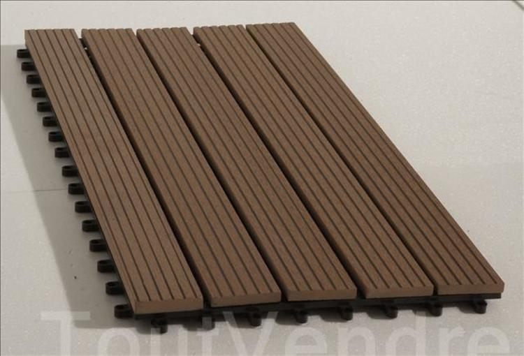 Destockage Caillebotis En Bois Composite 60X30Cm - 50% destiné Destockage Lame Composite