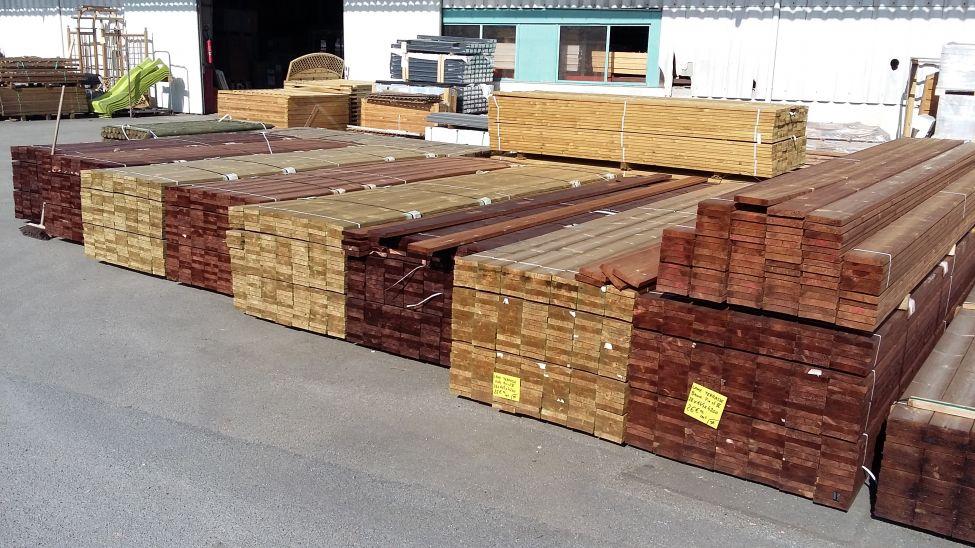 Eurosol, Destockage De Bois Pour Terrasse À Quimper avec Destockage Lame Composite