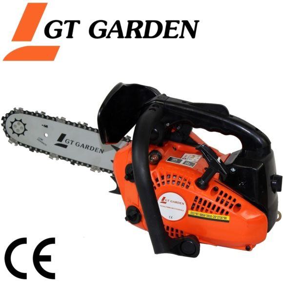 Gt Garden - Tronçonneuse Élagueuse Thermique 25 Cm3, 1.2 Cv, Guide 26 Cm - Pas Cher Achat pour Tronçonneuse Thermique Brico Depot
