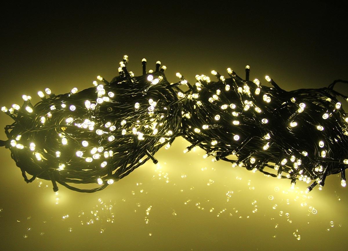 Guirlande Lumineuse Led Pile - Noel Decoration tout Guirlande Lumineuse Exterieur Professionnel