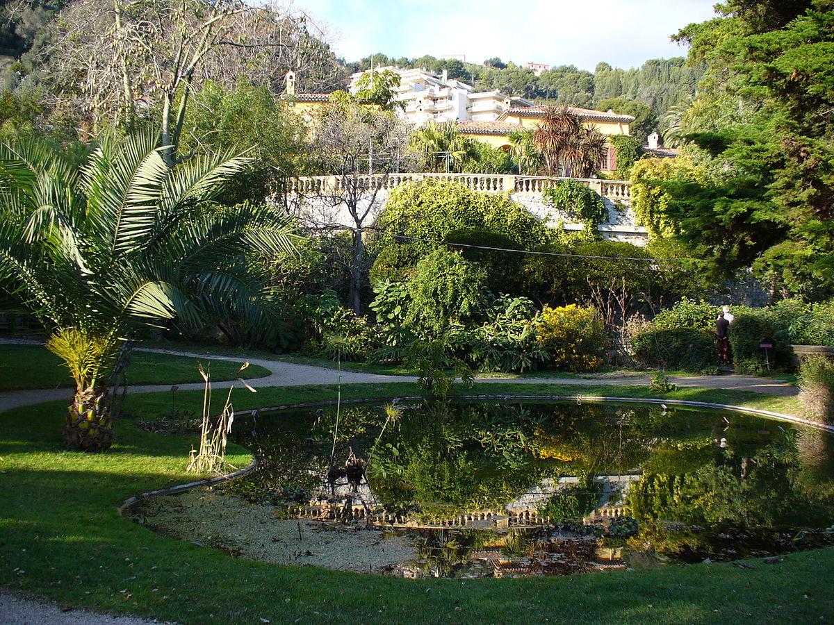 Jardin Botanique Exotique De Menton - Wikipedia dedans Jardin De Provence
