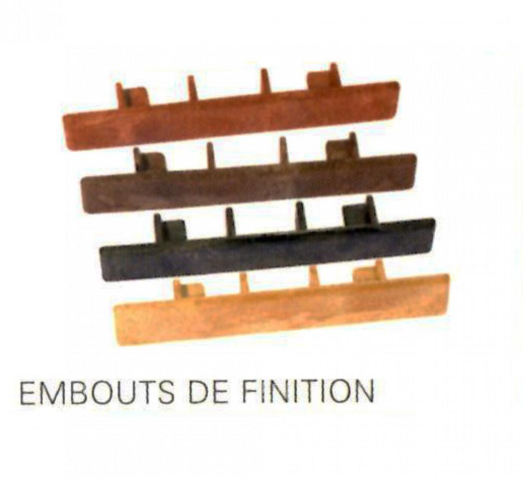 Jardin/Piscine | Lames Composite Standard | Embouts De concernant Destockage Lame Composite