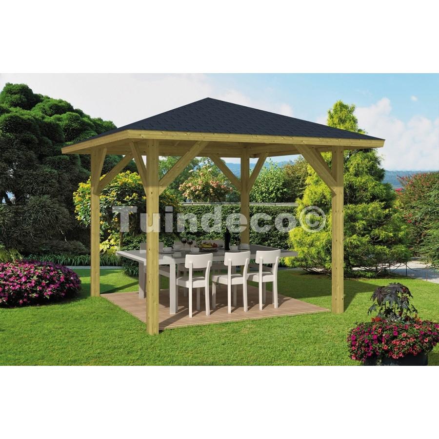 Kiosque De Jardin Touriste De Tuindeco encequiconcerne Kiosque De Jardin