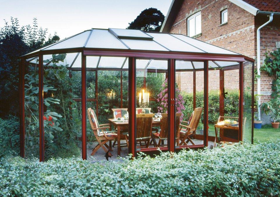 Kiosque De Jardin Victorien En Aluminium - Serre Euro encequiconcerne Kiosque De Jardin