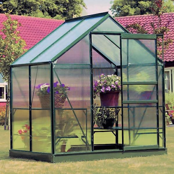 La Serre De Jardin En Polycarbonate - Archzine.fr avec Serre De Jardin Polycarbonate