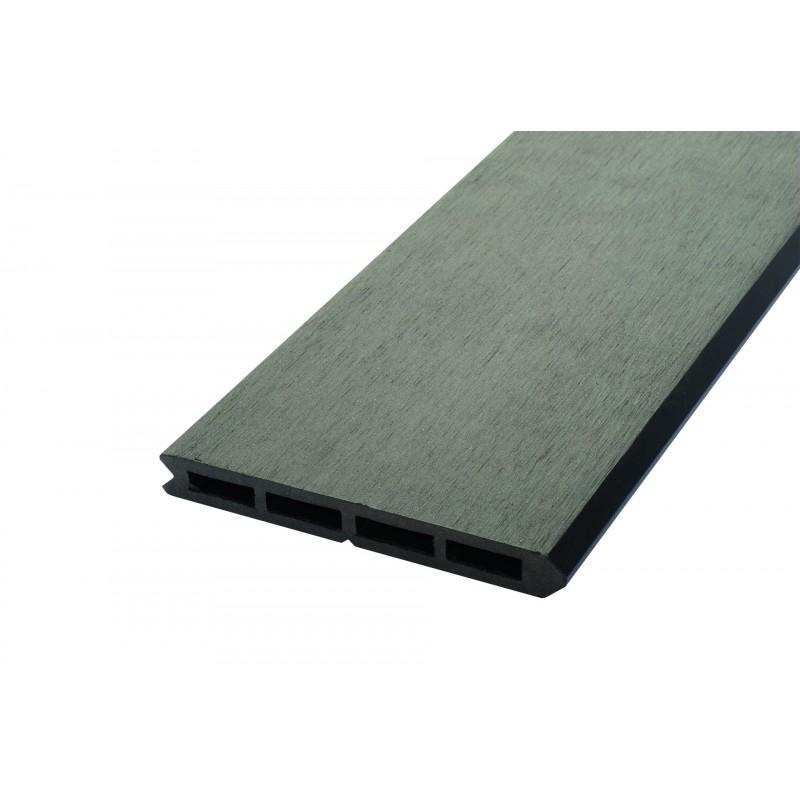 Lame De Clôture Bois Composite L 148 Cm / L 15.6 Cm / E 19 pour Destockage Lame Composite