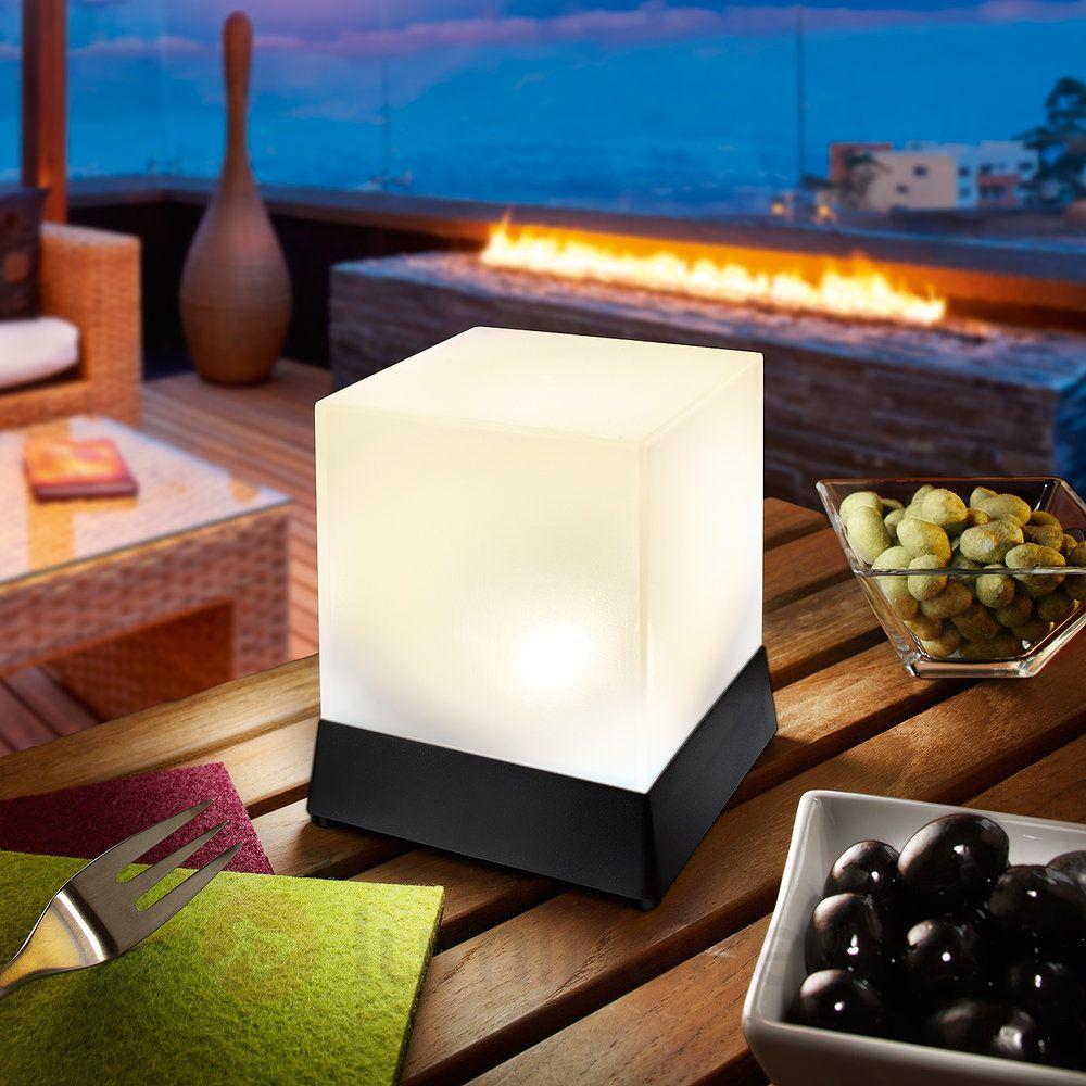 Lampe À Poser Led Solaire Cubique Cube   Led Solaire serapportantà Guirlande Lumineuse Exterieur Professionnel