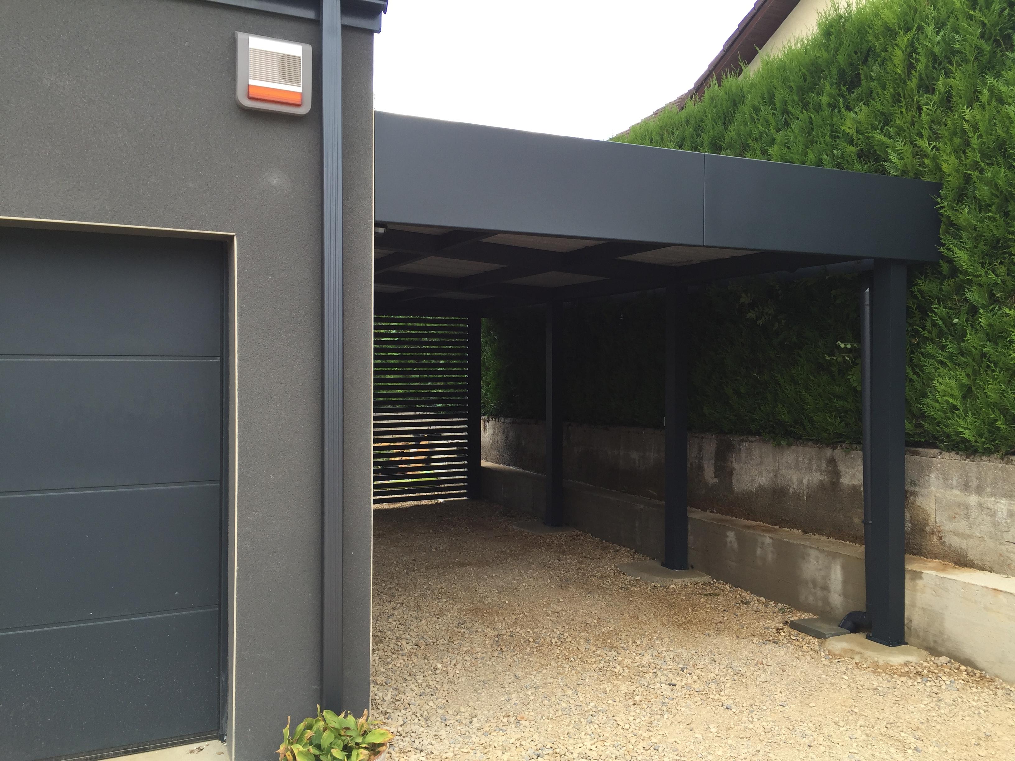 Le Carport Aluminium De La Semaine - Carport pour Abri Aluminium Sur Mesure