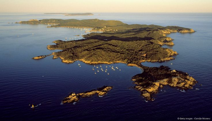 Les Îles D'Hyères. Sur Ce Trio Paradisiaque, Le Soleil pour Le Soleil Doré Ile De Ré