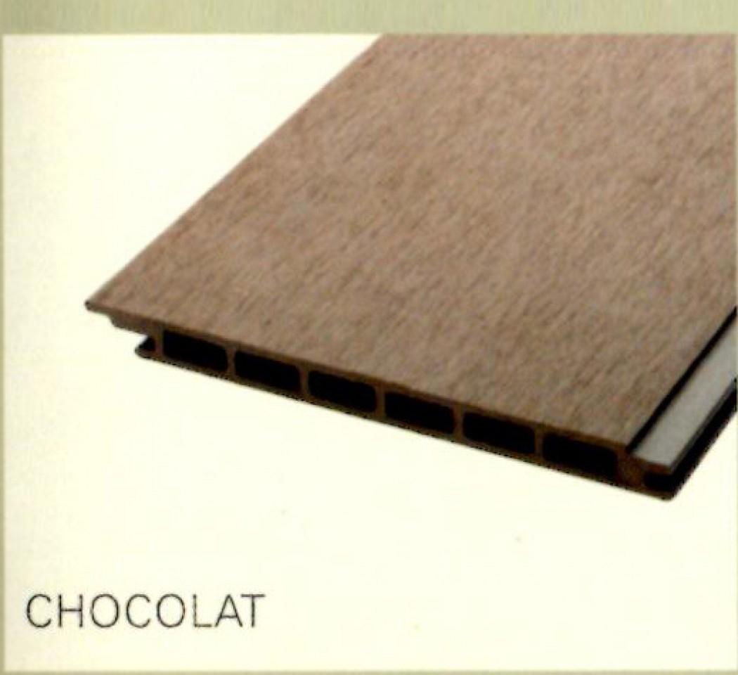 Matériaux | Bardage Alvéolaire | Lame De Bardage Composite concernant Destockage Lame Composite