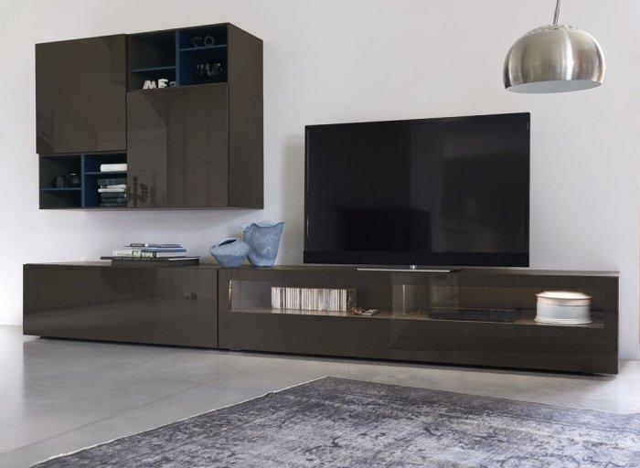Meuble Tv Design - 23 Meubles Bas Pour Moderniser Le Salon avec Meuble Suspendu Salon