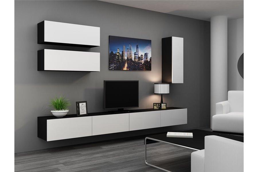 Meuble Tv Design Suspendu Fino - Chloe Design encequiconcerne Meuble Suspendu Salon