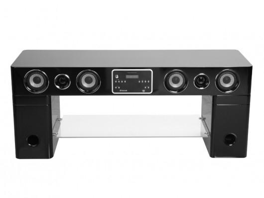 Meuble Tv Home Cinema Integre Watts Ii Bluetooth Noir Concernant Meuble Tv Avec Enceinte Agencecormierdelauniere Com Agencecormierdelauniere Com