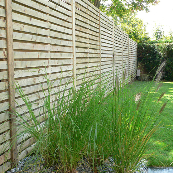 Mur De Clôture, Portail, Portillon - Les Jardins De La Vallée pour Cloture Bois Jardin