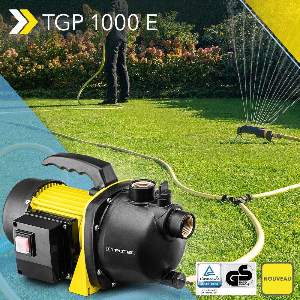 Nouveauté Pompe De Jardin Tgp 1000 E – Pompe Jusqu'à 3 300 encequiconcerne Pompe De Jardin