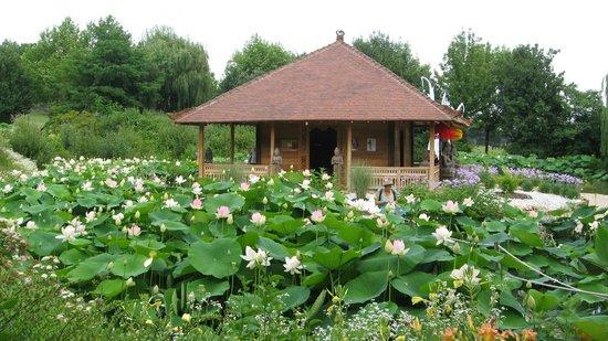Pagode Jardin Des Martels - Photo De Jardins Des Martels destiné Jardin Des Martels