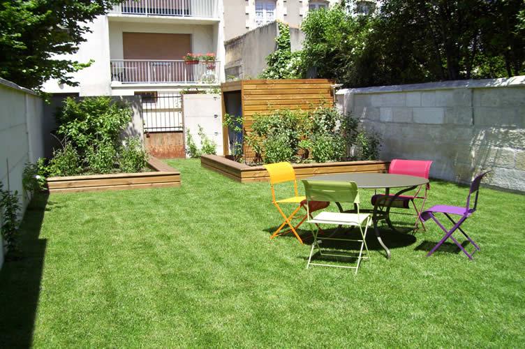 Paysagiste Jardin Angouleme - Création D'Espace Vert En Ville intérieur Un Jardin En Ville