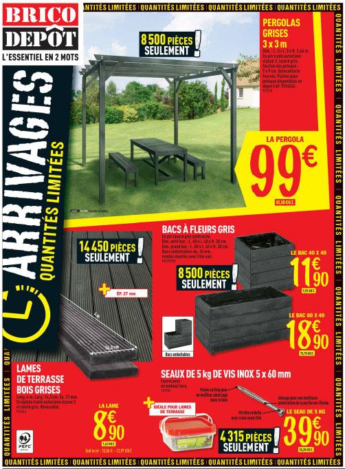 Tonnelle Bois Brico Depot Agencecormierdelauniere Com