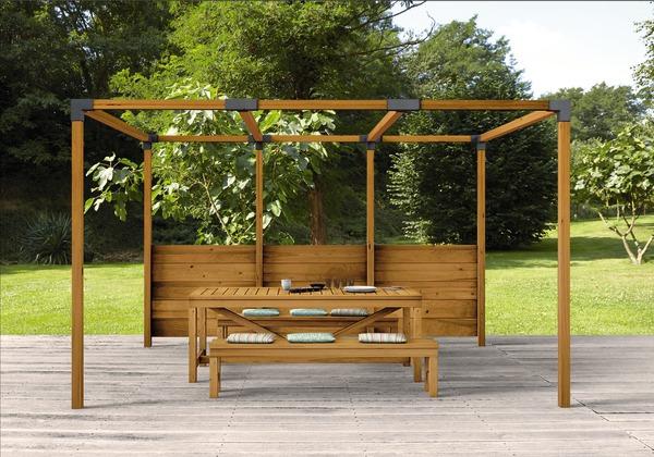 Pergola Bois Pas Cher Brico Depot | Idees De Decoration Et intérieur Pergola Bois Brico Depot