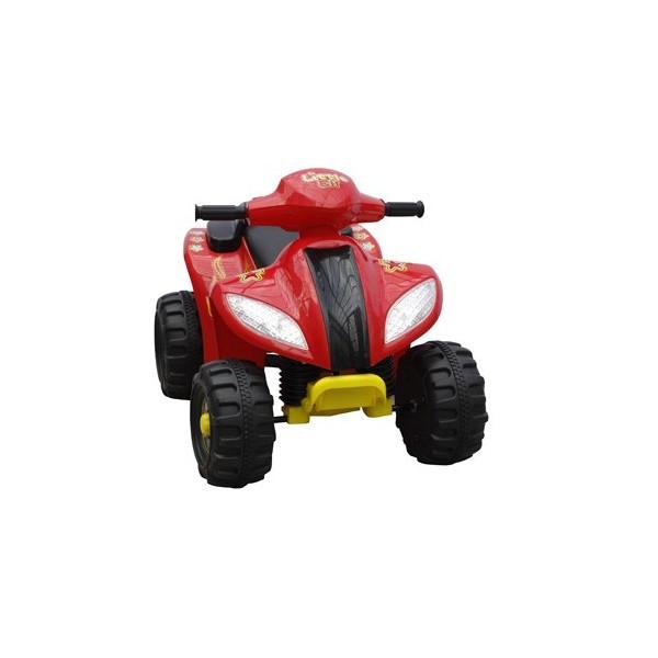Quad Electrique Enfant 6V Rouge dedans Quad Enfant Electrique