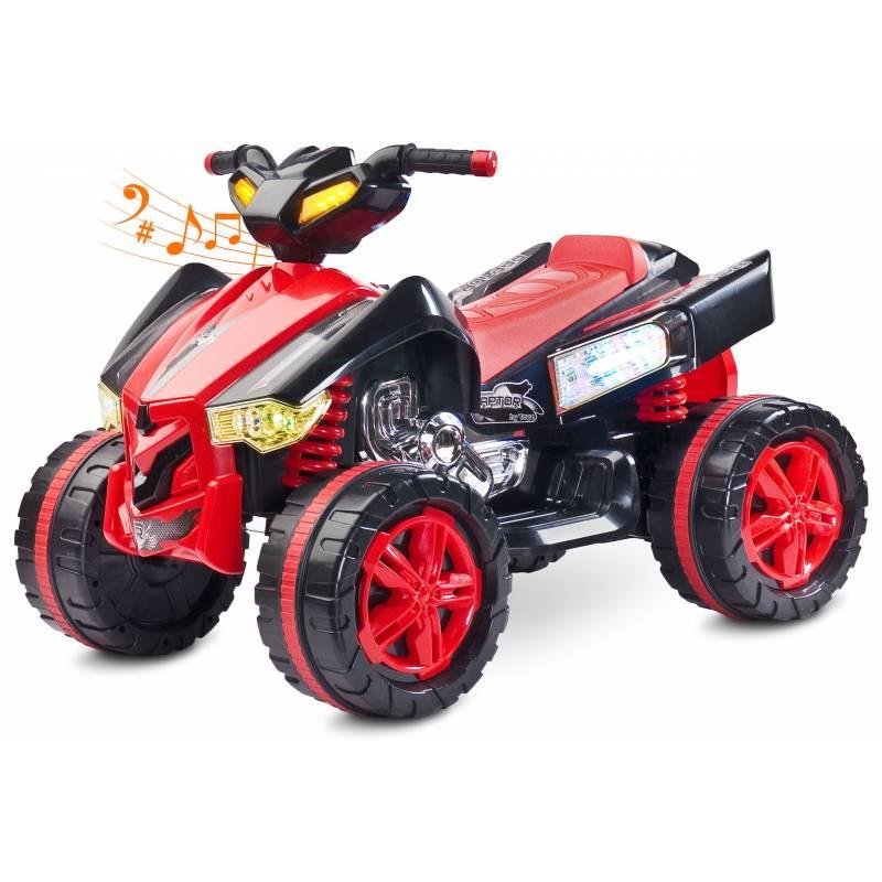 Quad Électrique Pour Enfant Raptor Rouge - Quad Enfant 12 V tout Quad Enfant Electrique