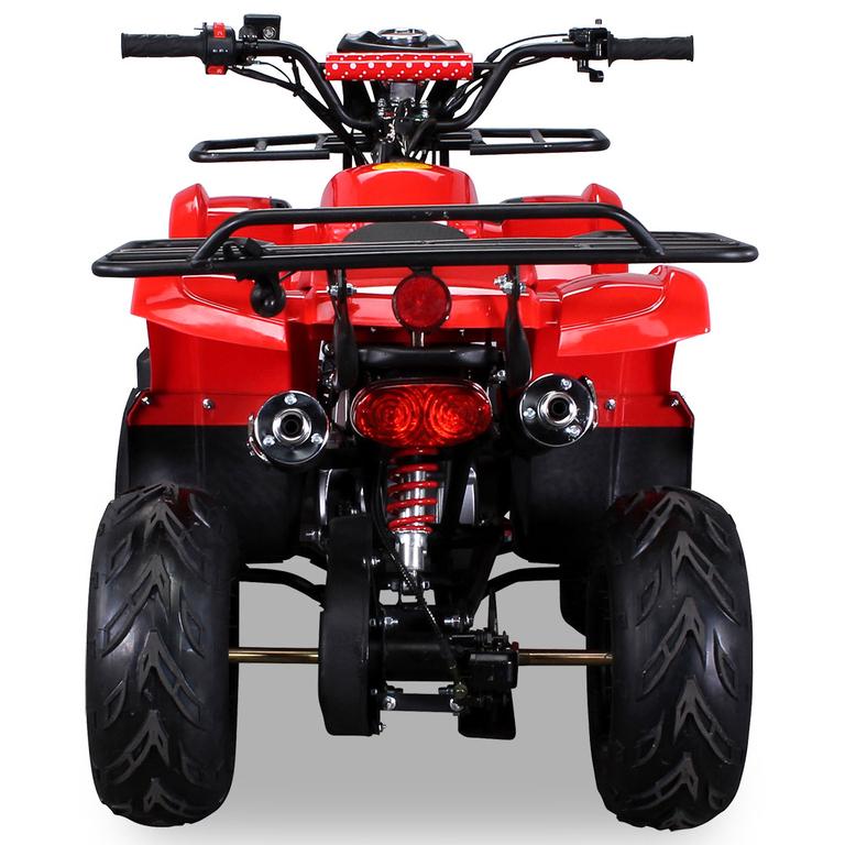 Quad S8 Enfant 125 Cc Couleur Rouge - Quad/Quad Thermique concernant Quad Thermique Enfant