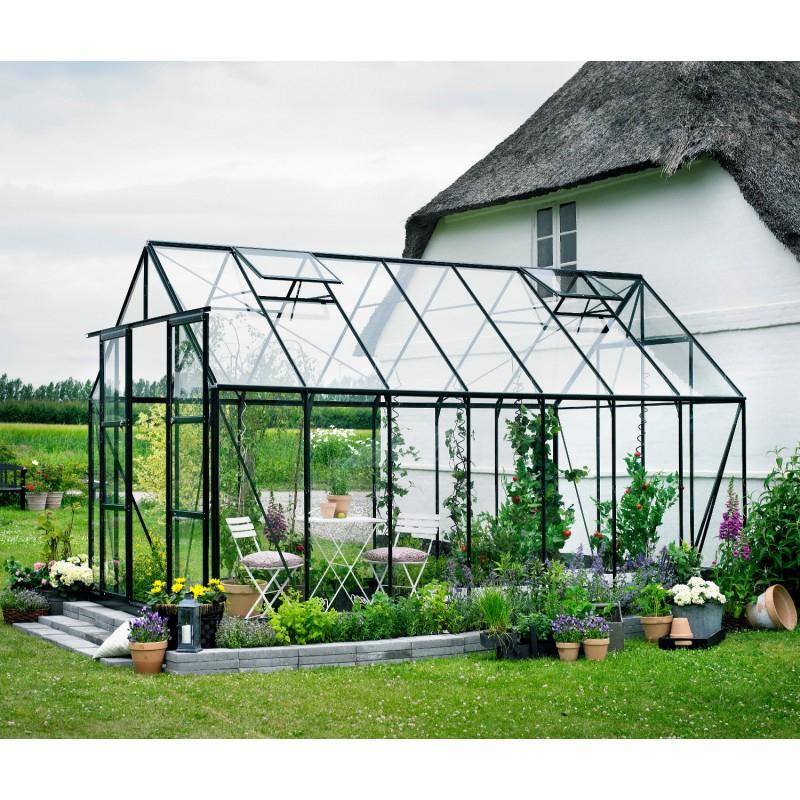 Serre De Jardin 11,5M² Verte En Verre Horticole Magnum Halls pour Ma Serre De Jardin