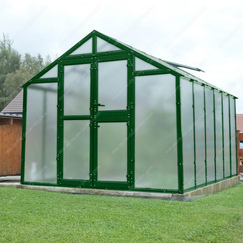 Serre De Jardin 249X306Cm 7,62M² En Polycarbonate 8Mm pour Serre De Jardin Polycarbonate