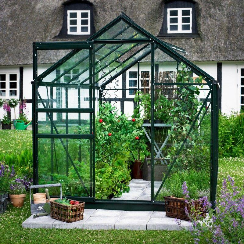 Serre De Jardin 6,2M² Verte Et Verre Horticole Popular pour Ma Serre De Jardin