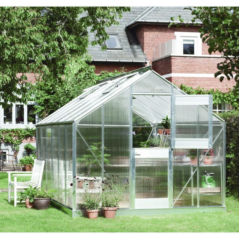 Serre De Jardin 9,9M² En Polycarbonate 6Mm Junior Juliana destiné Ma Serre De Jardin