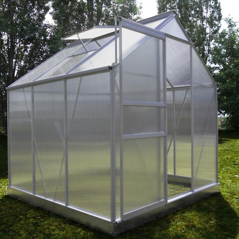 Serre De Jardin Diamant ® 66 Polycarbonate serapportantà Serre De Jardin Polycarbonate