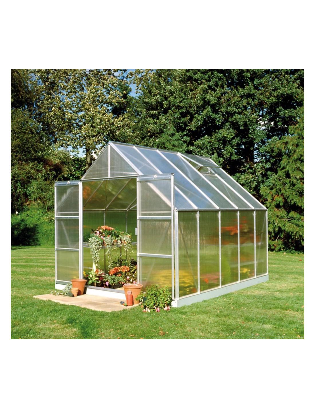 Serre De Jardin Magnum 9,9 M² - Polycarbonate De 6 Mm pour Ma Serre De Jardin