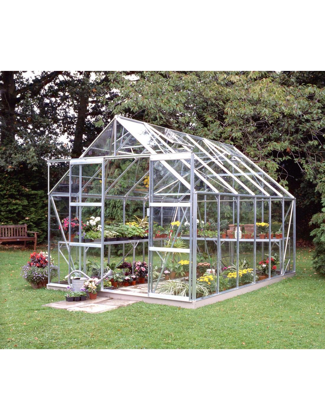 Serre De Jardin Magnum 9,9 M² - Verre Horticole De 3 Mm concernant Ma Serre De Jardin