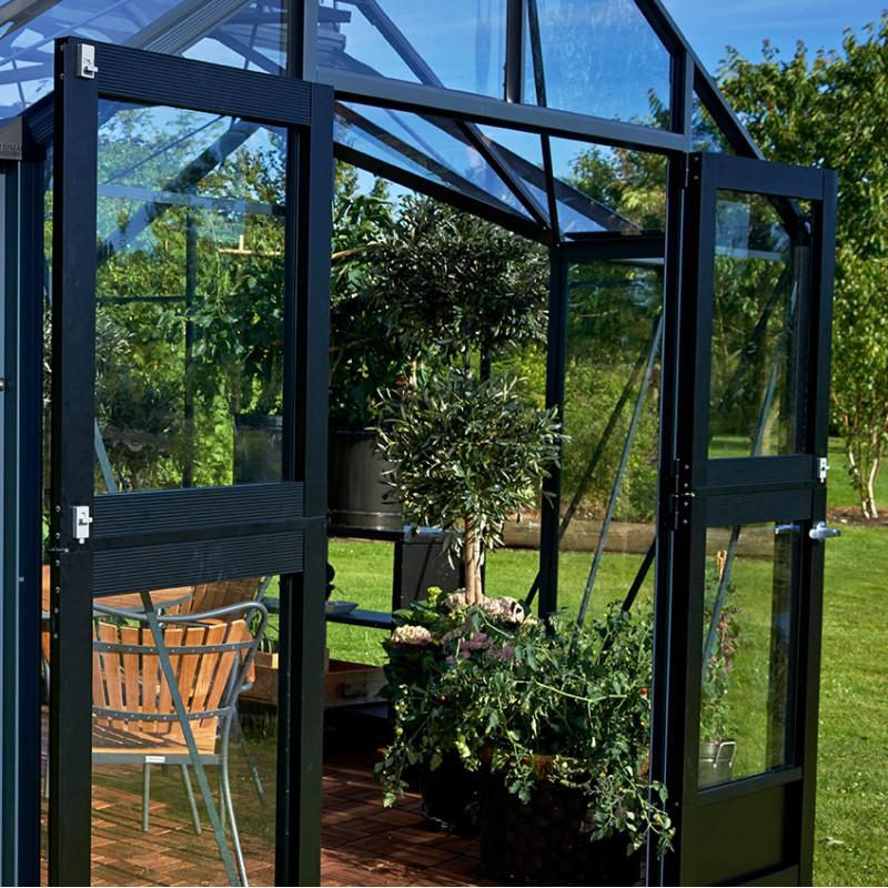 Serre Orangery Aluminium Et Verre Trempé 15,2M² Juliana dedans Ma Serre De Jardin