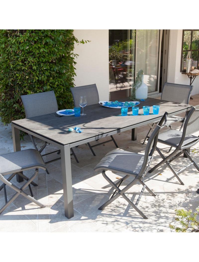 Table De Jardin Trespa avec Table De Jardin