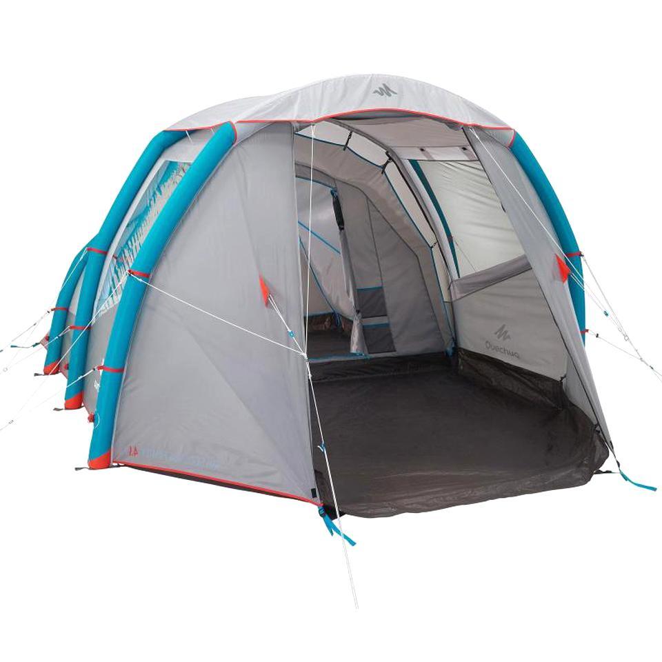 Tente Camping Quechua Camping D'occasion concernant Tente De Plage Decathlon
