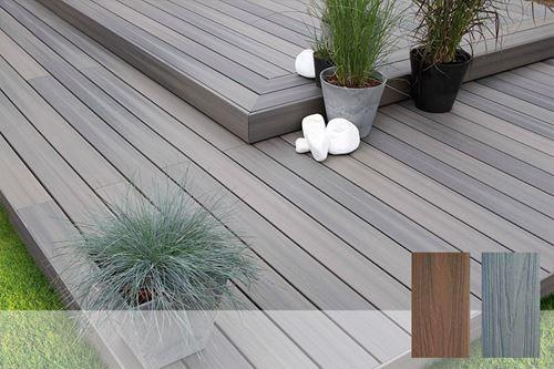 Terrasse Bois Exotique tout Lame De Terrasse Composite Brico Depot