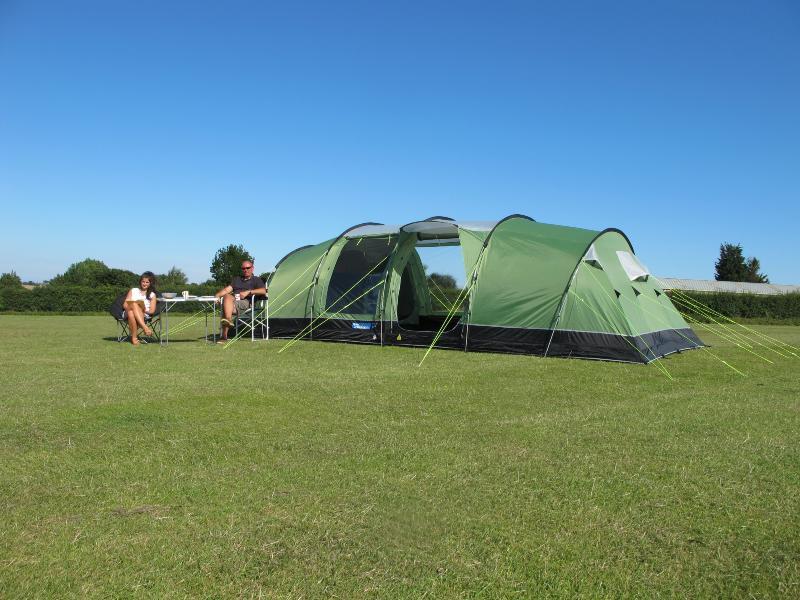Toile De Tente Kampa Watergate 8 Places pour Toile De Tente Gonflable
