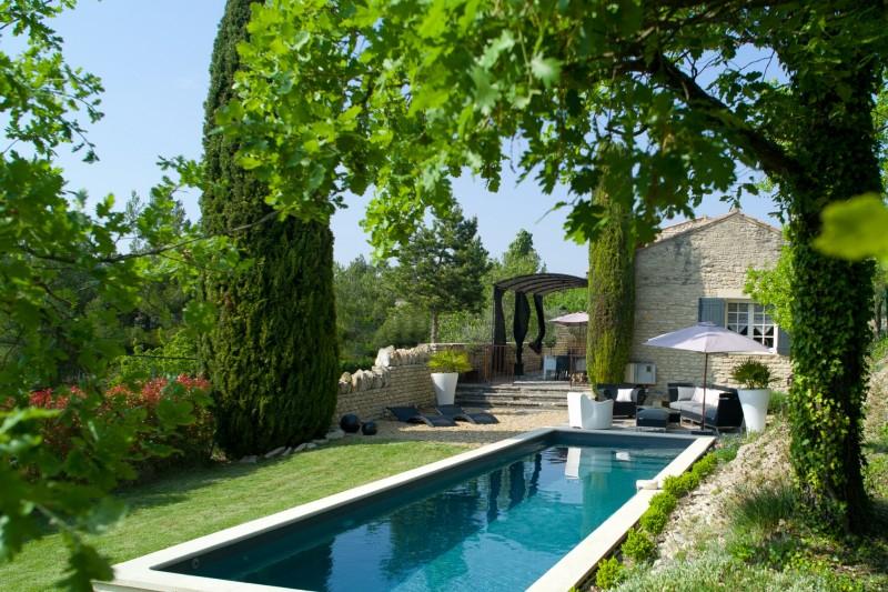 Ventes A Gordes, En Vente, Maison En Pierre Rénovée Avec avec Jardin De Provence