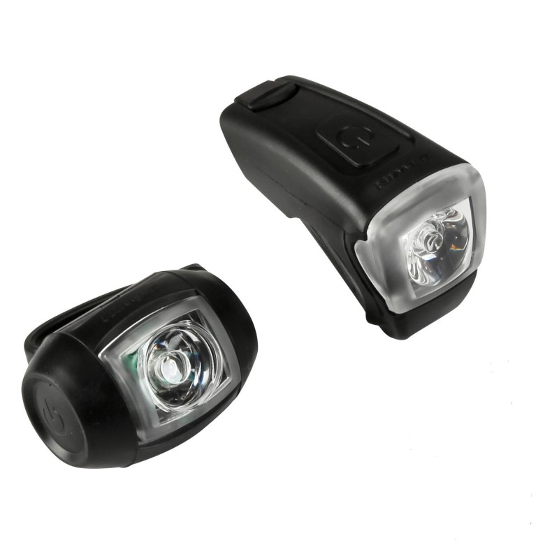 Vioo 300 Usb Bike Light Set | Decathlon encequiconcerne Eclairage Velo Decathlon