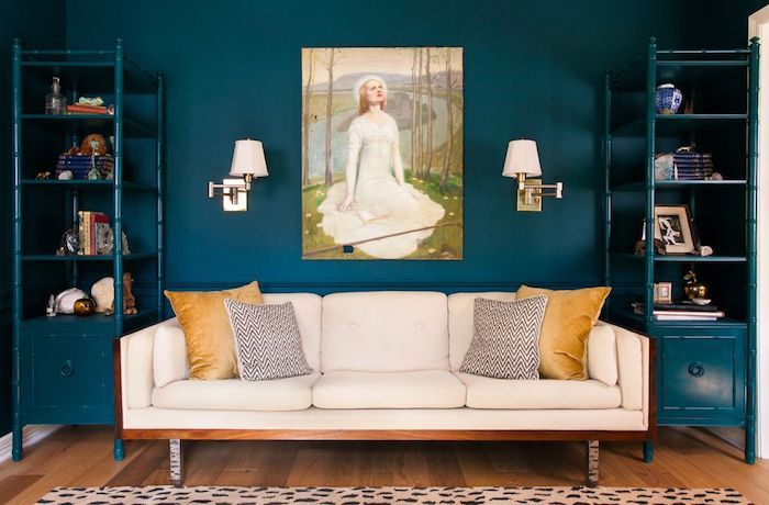 1001 + Conseils Et Idées Comment Adopter La Couleur Bleu pour Chemin De Table Bleu Canard