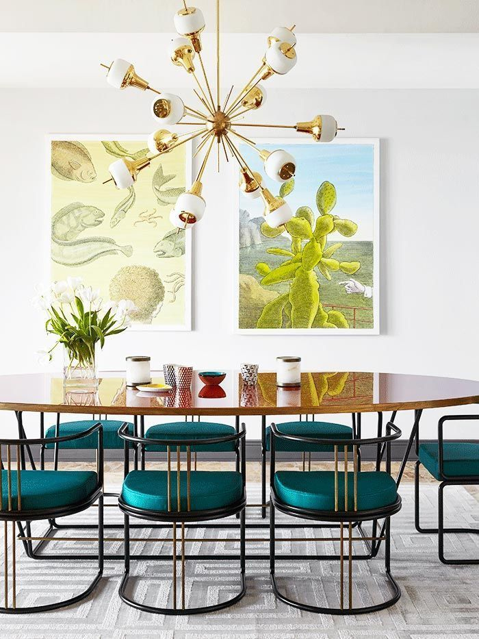 1001 + Idées Déco Avec La Couleur Bleu Canard Pour Une destiné Chemin De Table Bleu Canard