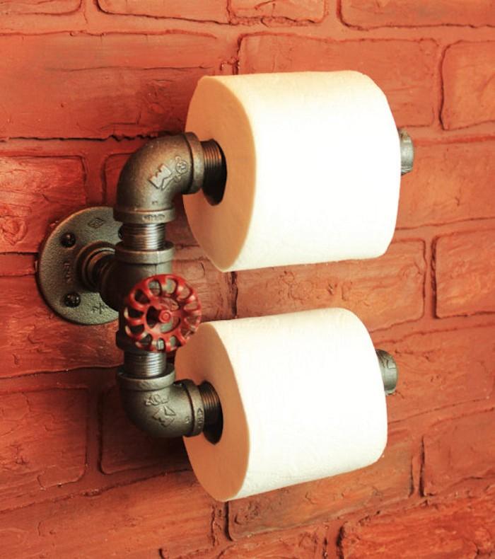 1001+ Idées   Étagère Wc – 40 Modèles Pour Trouver Le pour Porte Papier Toilette Original