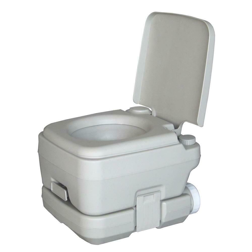 10L Portable Camping Toilet Flush Porta Travel Outdoor pour Toilettes Portables